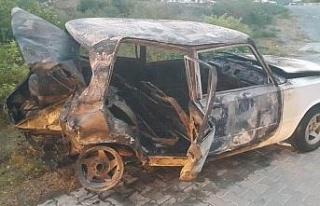 Söke'de üç aracın karıştığı kazada, bir...