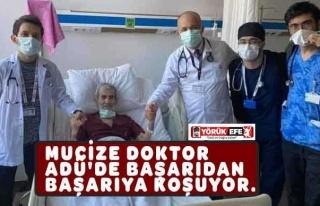 MUCİZE DOKTOR ADÜ'DE BAŞARIDAN BAŞARIYA KOŞUYOR....