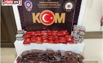 Aydın'da kaçak tütün operasyonu