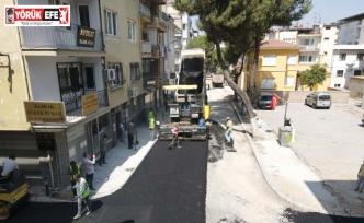 Efeler Belediyesi'nden Çankaya Caddesi'ne asfalt