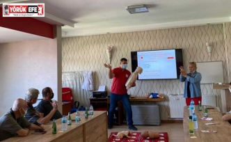 Aydın'da işitme engelli bireylere 'ilk yardım' eğitimi verildi
