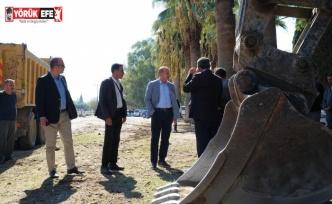 Didim'de, Milet yolu için çalışmalar başlatıldı