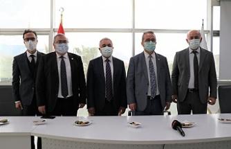 CHP'Lİ VEKİLLER TEZCAN VE BÜLBÜL'DEN,  BAŞKAN TUNCEL'E TEŞEKKÜR