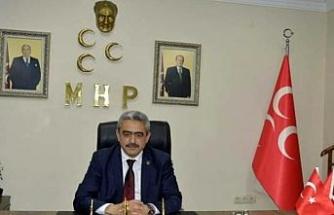 MHP Aydın İl Başkanı Alıcık Gözpınar şehitleri ve merhum Cumhurbaşkanı Elçibey'i andı