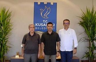 Aydın ASKF Başkanı Kaplan, Başkan Günel ile görüştü