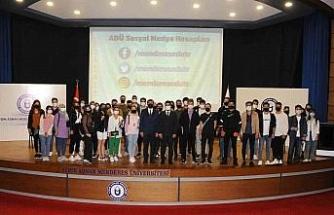 ADÜ'de 'Rektör-Öğrenci Buluşmaları'nın ilki gerçekleşti