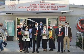 Atatürk Devlet Hastanesi'nde, hasta hakları konusunda bilgilendirmede bulunuldu