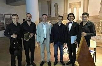 Aydın Arkeoloji Müzesi'nde 'Hazan Şarkıları' konseri gerçekleşti