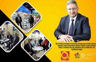 Başkan Arslan,  gıda fuarı sonrası açıklamalarda bulundu