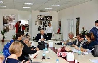 Başkan Atabay, gazeteciler ile bir araya geldi