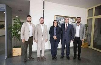 Başkan Çerçioğlu, Söke Genç İş İnsanları Derneği'ni ağırladı