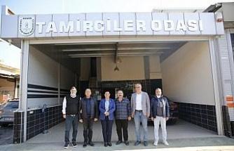 Başkan Çerçioğlu tamirciler ile bir araya geldi