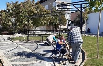 Germencik'te belediyenin çalışmaları aralıksız devam ediyor