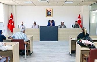 Köşk Belediye Meclisi'nde buruk toplantı