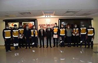 Motorize ambulans ekibi Aydın'da bin 941 vakaya müdahale etti