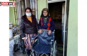 TÜRKİYE SAKATLAR DERNEĞİ AYDIN ŞUBE'DEN ÜYELERİNE DESTEK