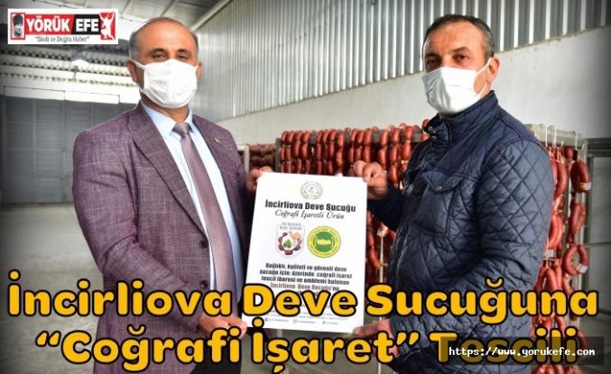 """İncirliova Deve Sucuğuna """"Coğrafi İşaret"""" Tescili"""
