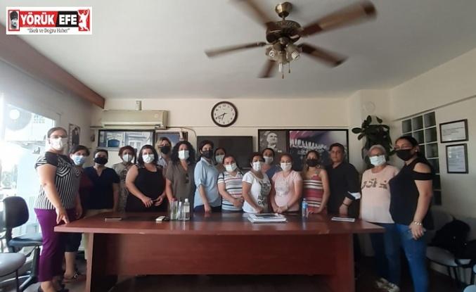 CHP Efeler İlçe kadın Kolları Aralıksız Çalışıyor
