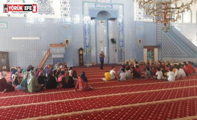 AFAD Aydın İl Müdürlüğü'nden cami cemaatine afet eğitimi