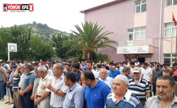 Aydın'da köylüler yağmur duasına çıktı