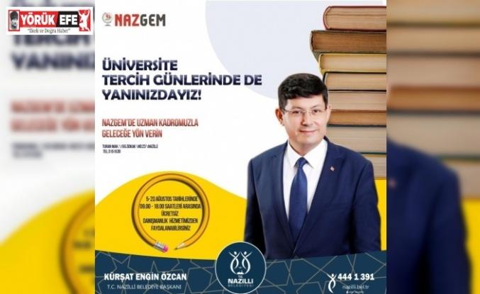 NAZGEM üniversite tercihi yapacakların hizmetinde olacak