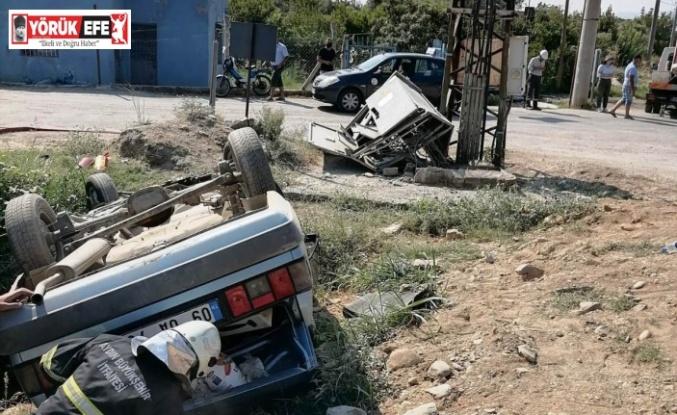 İncirliova'da trafik kazası: 7 yaralı