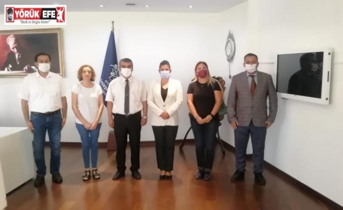 Otizm Derneği yöneticileri Başkan Çerçioğlu ile görüştü