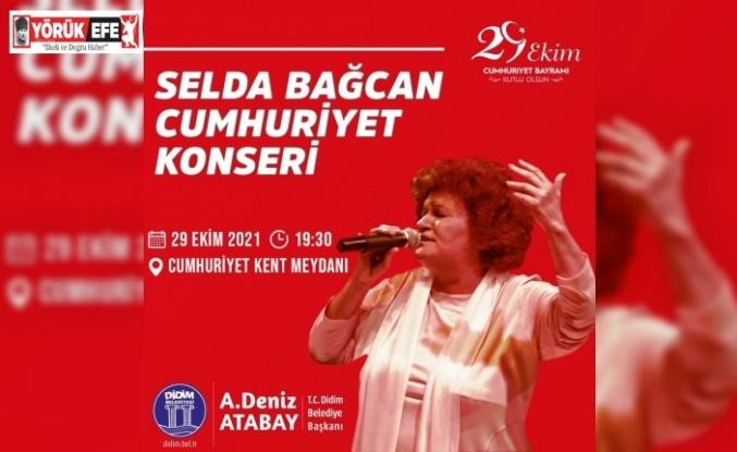 Didim'de Selda Bağcan konseri için geri sayım başladı