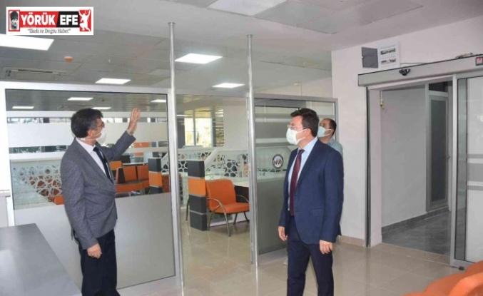 Efeler İlçe Nüfus Müdürlüğü yeni yerinde hizmet vermeye başladı