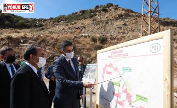 Tarım ve Orman Bakan Yardımcısı Özkaldı, Aydın'daki yatırımları yerinde inceledi