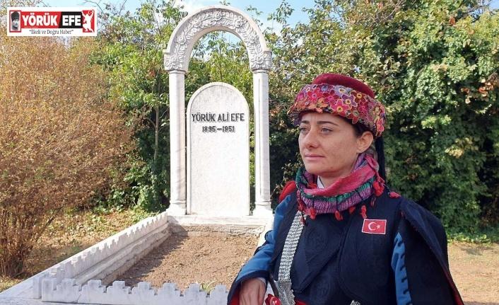 Yörük Ali Efe ölümünün 70. yılında mezarı başında anıldı