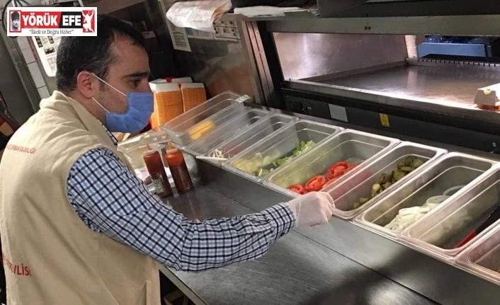 Aydın'da 20 gıda işletmesine 249 bin TL cezai işlem uygulandı